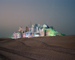 Bawadi, Dubai, 2006. Project to build a dormitory town for an entertainment district. © Florian Joye