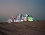 Bawadi, Dubai, 2006, Projekt einer Schlafstadt für ein Vergnügungsviertel.  © Florian Joye