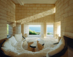 Haus Can Lis, Mallorca, 1971. Home with a view of the sea. Architect: Jørn Utzon. © Søren Kuhn