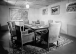 Conference room in Federal Council's bunker (BAR 32112, photographer Steiner) © Swiss Federal Archives, Bern