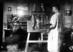 The painter, around 1906(Malters, Canton Lucerne) © Josef Burri