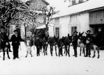 Trading donkeys, around 1910 (Malters, Canton Lucerne) © Josef Burri